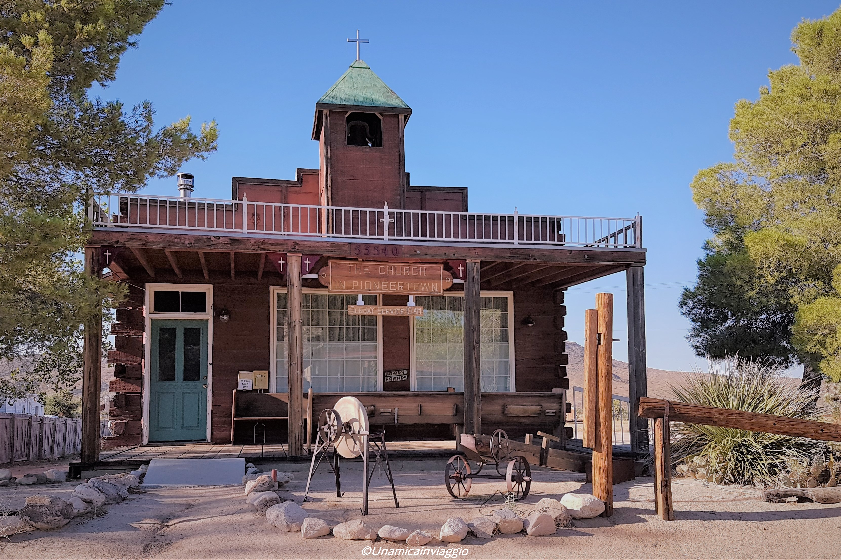 visitare il joshua tree - pioneertown