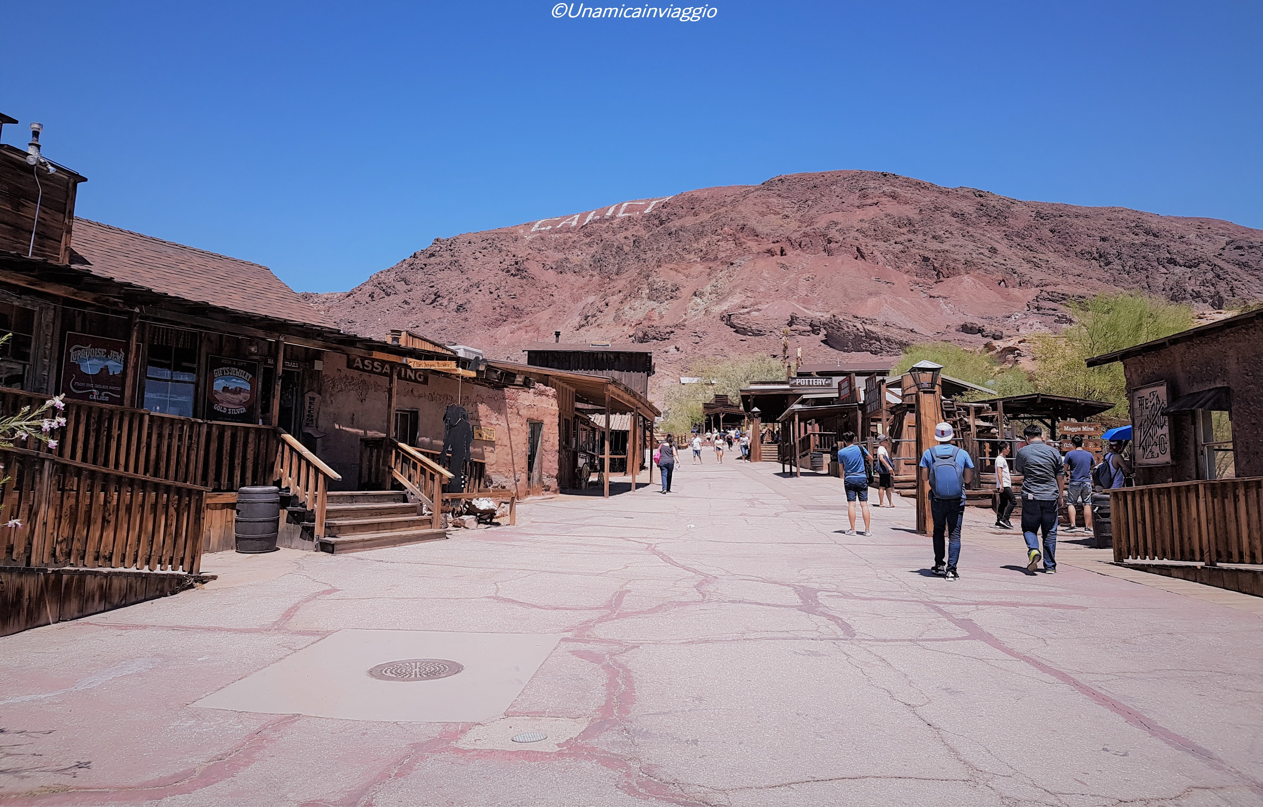 visitare calico ghost town - città fantasma california