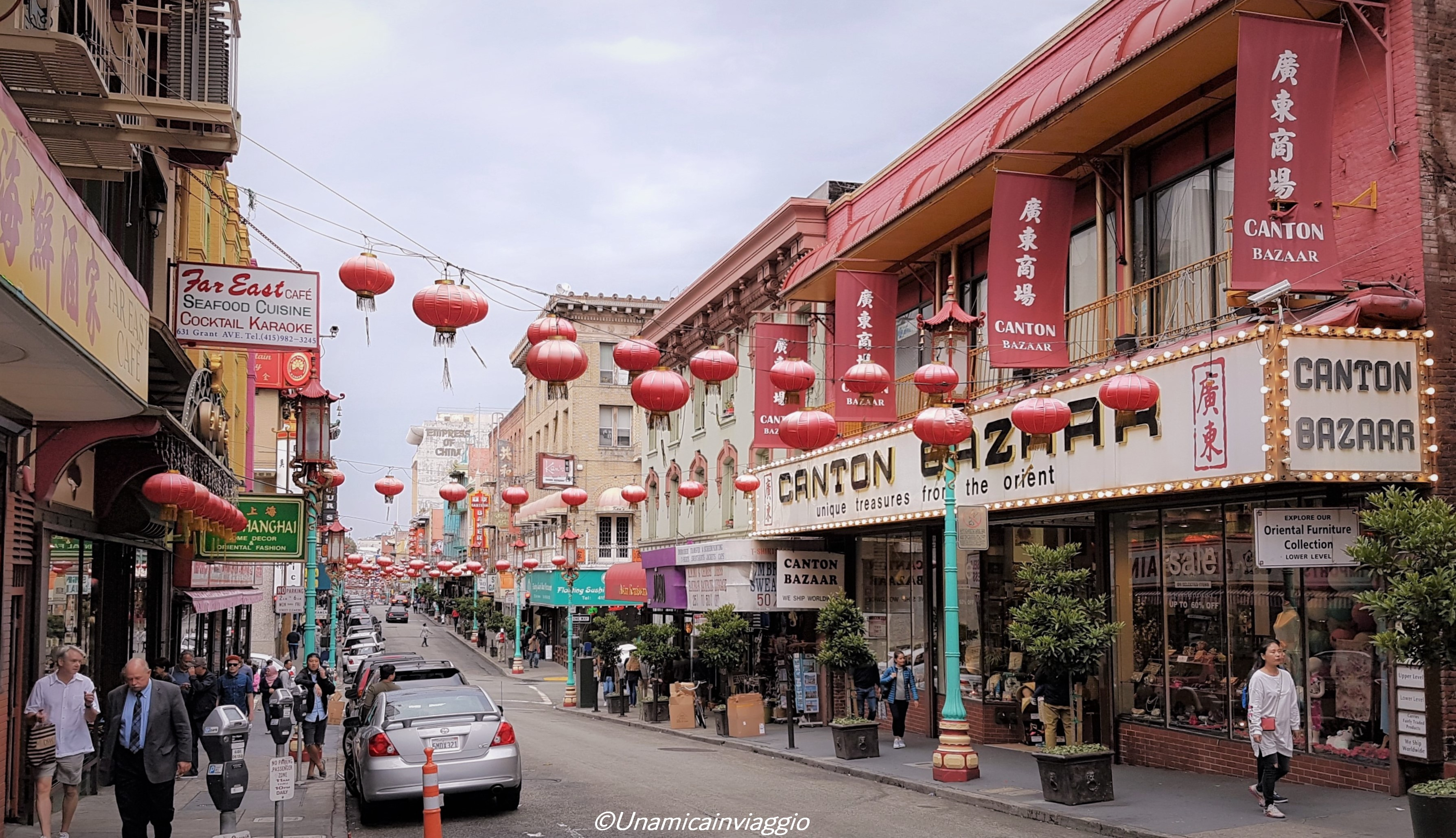 visitare Chinatown San Francisco