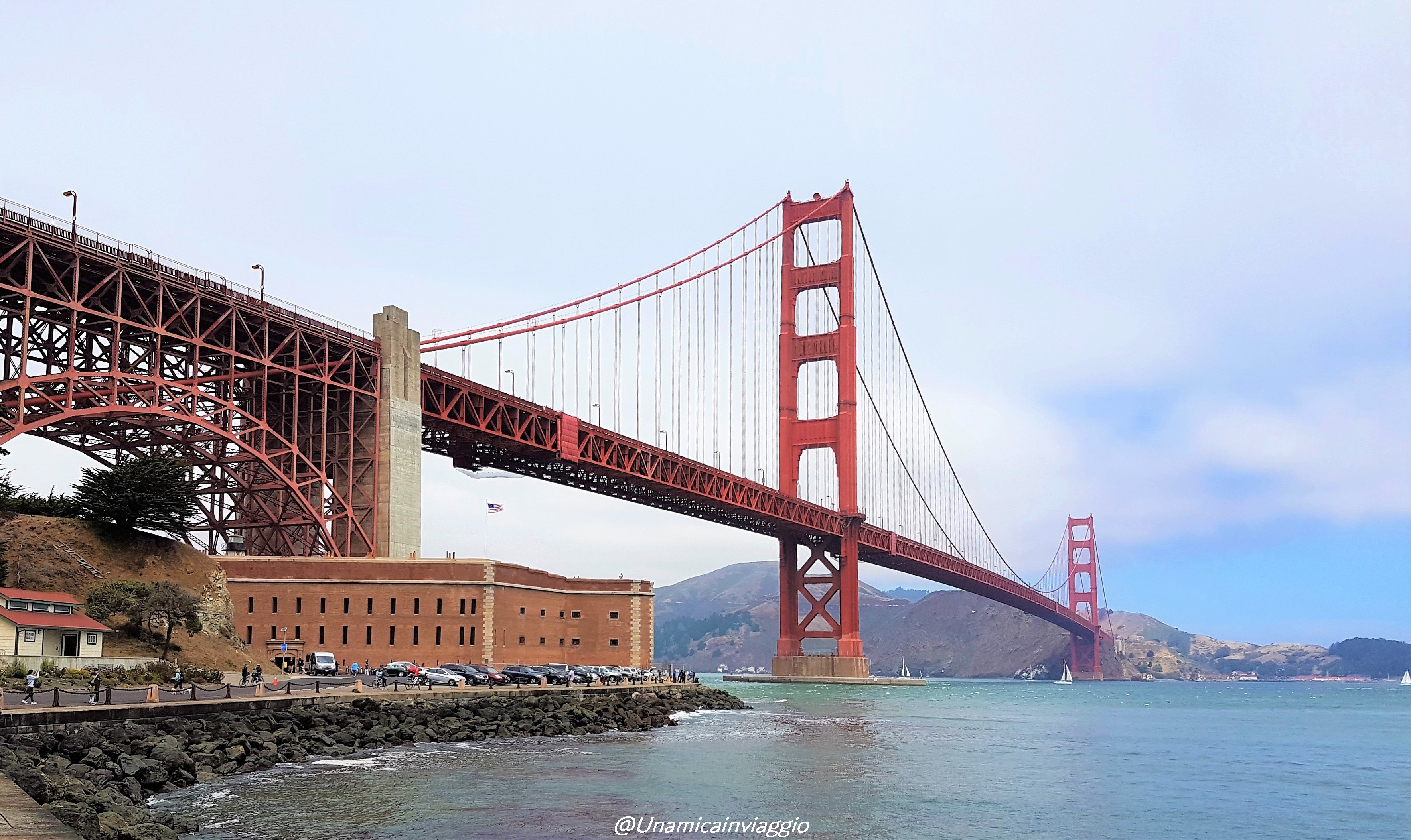 da dove vedere il golden gate bridge a san francisco
