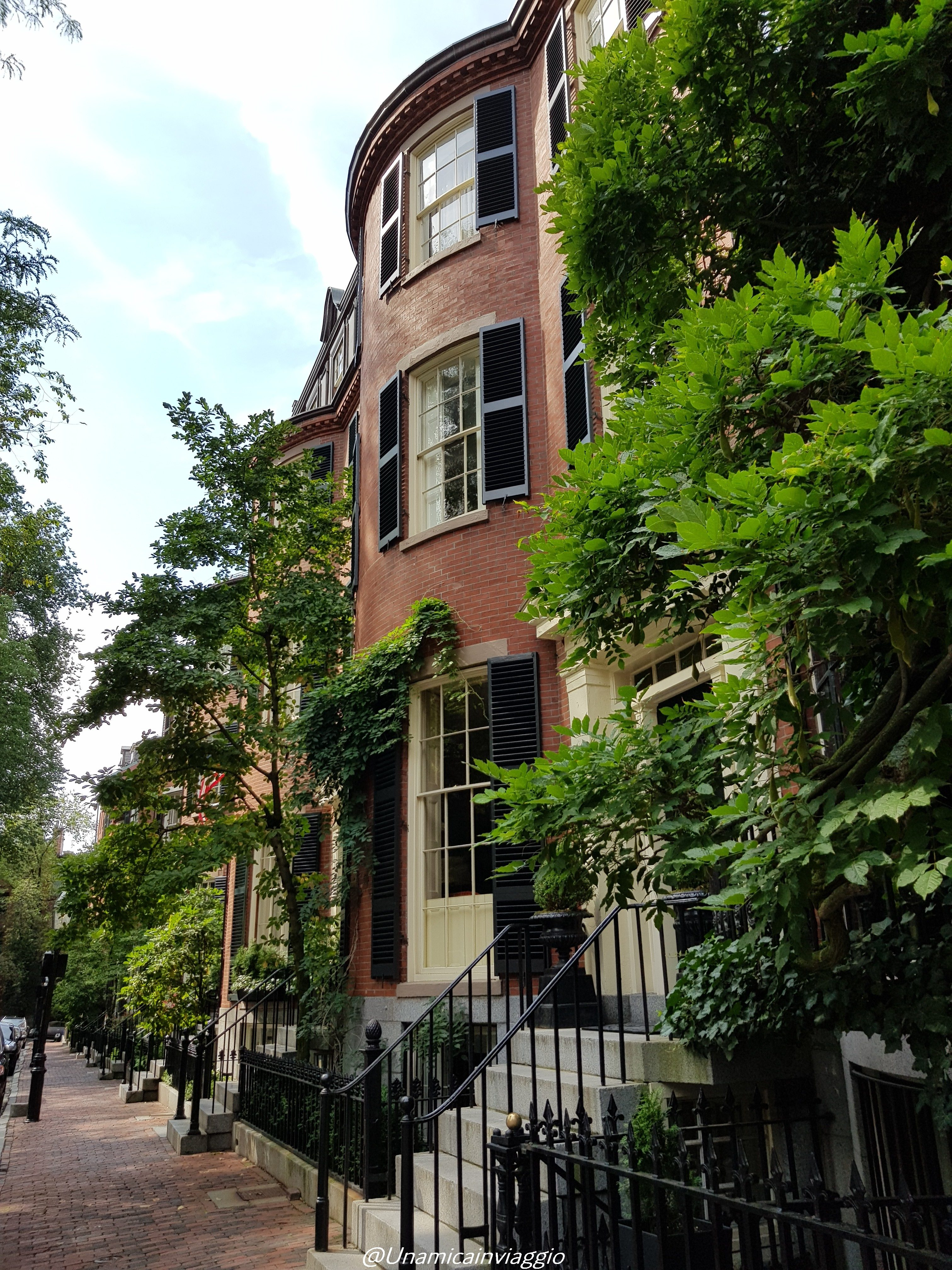 cosa vedere a boston - itinerario a beacon hill